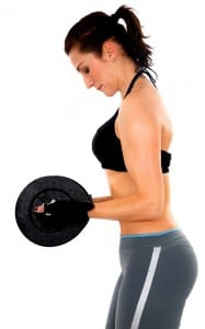 woman lifting weight - fitness exercises