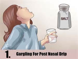 post nasal drip help