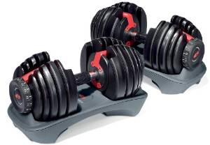 bowflex selectech 552 adjustable dumbbells
