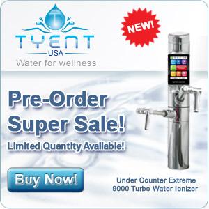 Tyent water ionization