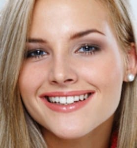 Healthy Teeth in Beautiful Blonde Woman