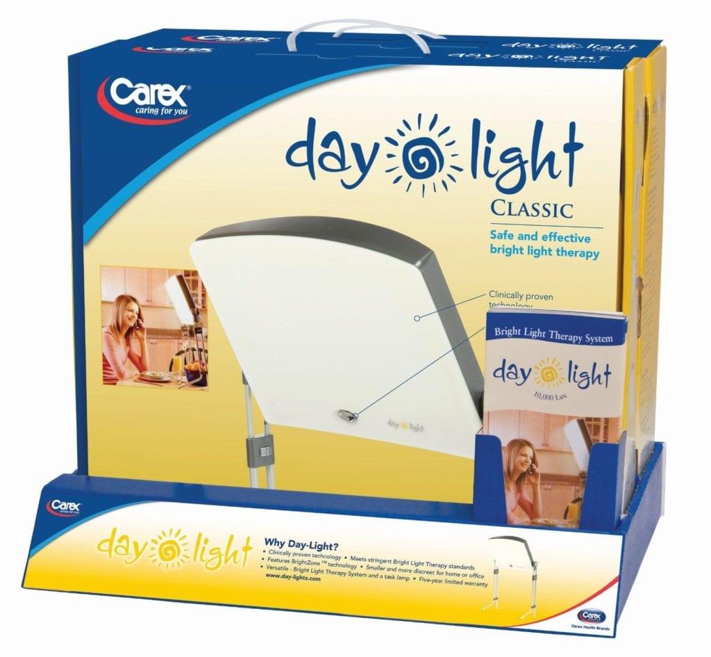 sad lamp therapy