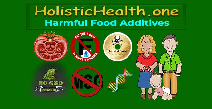 harmful additives in food