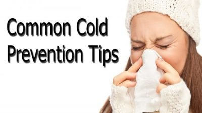 prevention of common cold