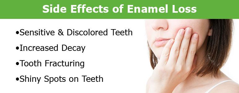 repair tooth enamel