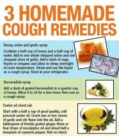 natural remedies for cough