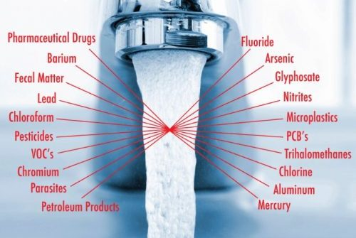 tap water chemicals